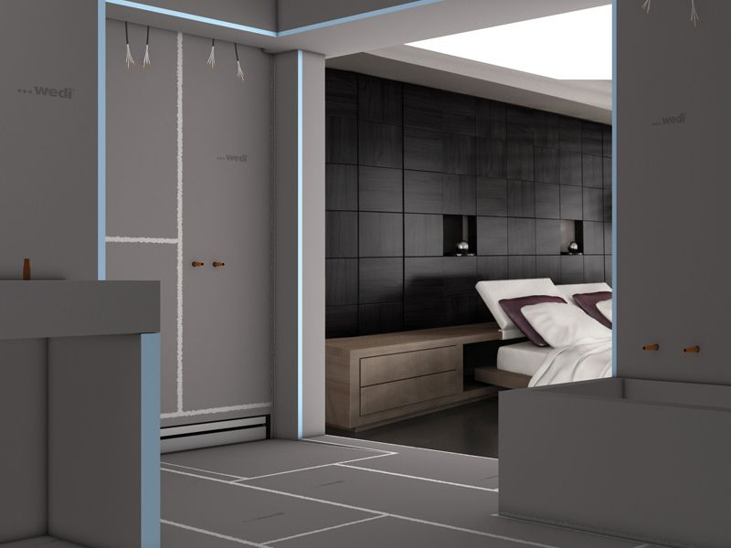 wedi grundlagen die funktionieren f r formvollendete. Black Bedroom Furniture Sets. Home Design Ideas